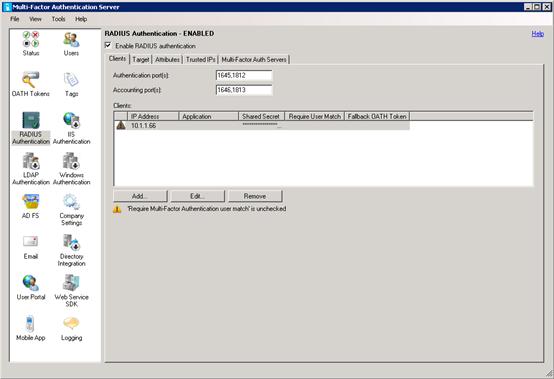 Azure Multi-Factor Authentication Server with Remote Desktop