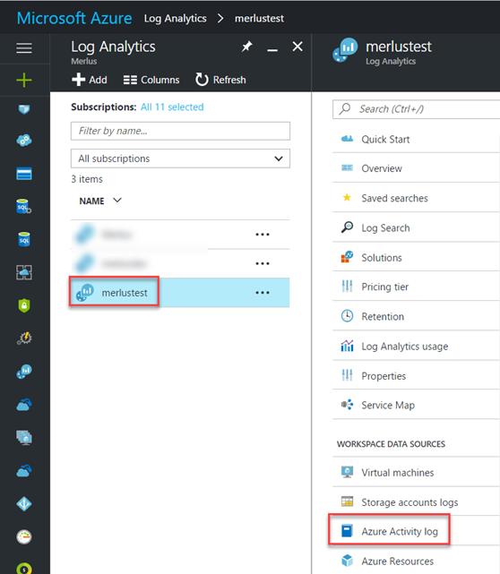 Azure Activity Log Analytics alerts with Operations Management ...